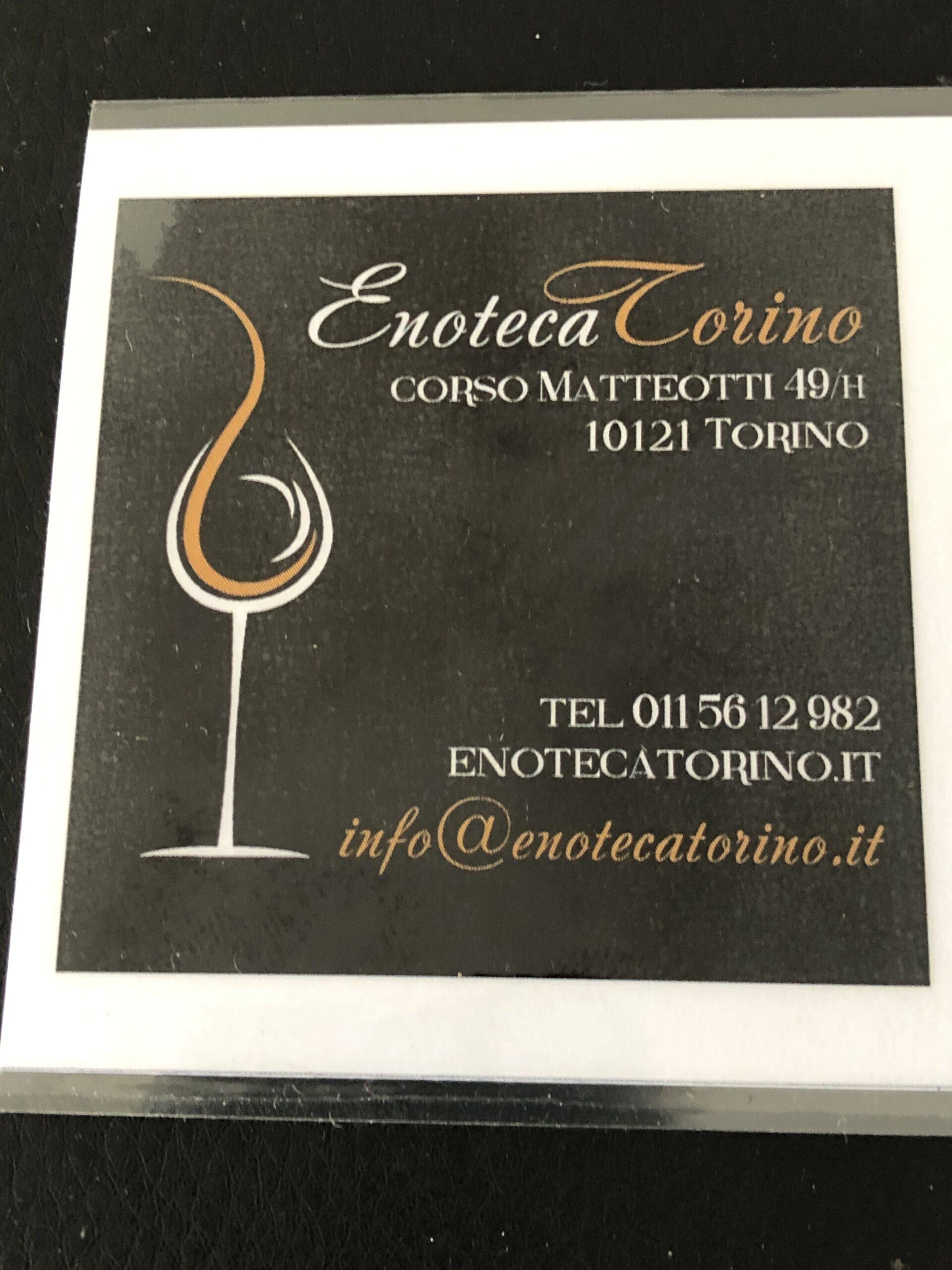 Enoteca Torino